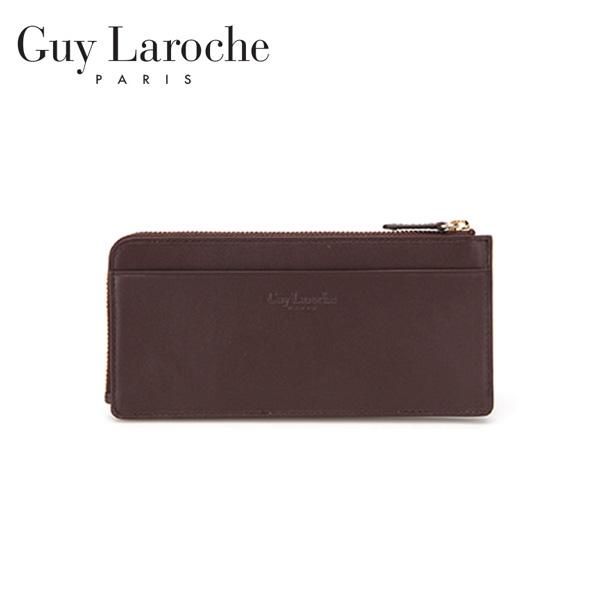 [Guy Laroche] 기라로쉬 토리노 카드&핸드폰지갑-다크브라운