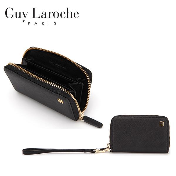 [Guy Laroche] 기라로쉬 사피아노 핸들 카드케이스-블랙