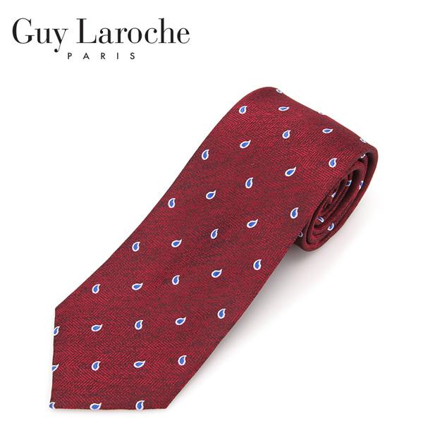 Guy Laroche 페이즐리 패턴 넥타이 GL-NT-101
